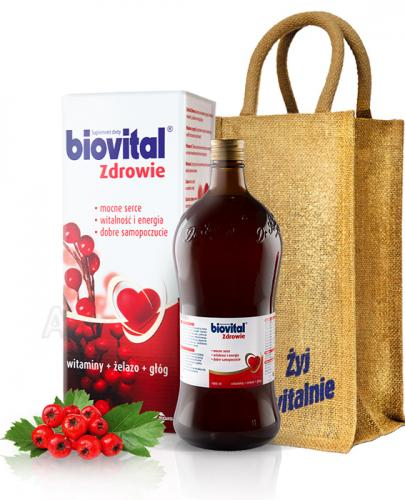 BIOVITAL Zdrowie płyn - 1000 ml + Torebka+kalendarz - Apteka internetowa Melissa