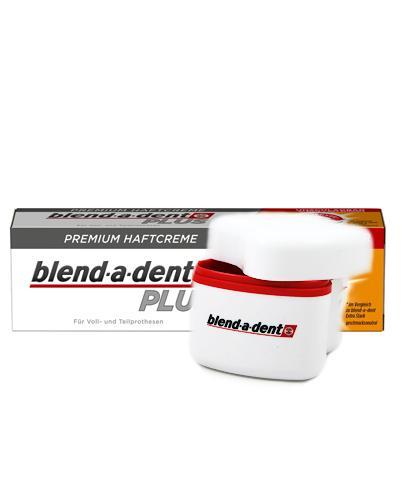 BLEND-A-DENT PLUS DUAL POWER Klej do protez - 40 g + Szczoteczka do czyszczenia protez - 1 szt. - Apteka internetowa Melissa