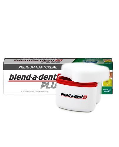 BLEND-A-DENT PLUS DUAL PROTECTION Klej do protez - 40 g + Szczoteczka do czyszczenia protez - 1 szt. - Apteka internetowa Melissa