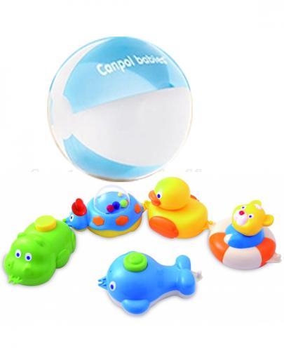 CANPOL Zabawki do kąpieli 2/594 + Piłka GRATIS !  - Apteka internetowa Melissa