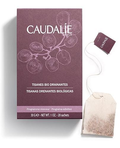 CAUDALIE Drenująca eco-herbata ziołowa - 20 sasz. 085 + Próbki Caudalie 10 ml GRATIS !