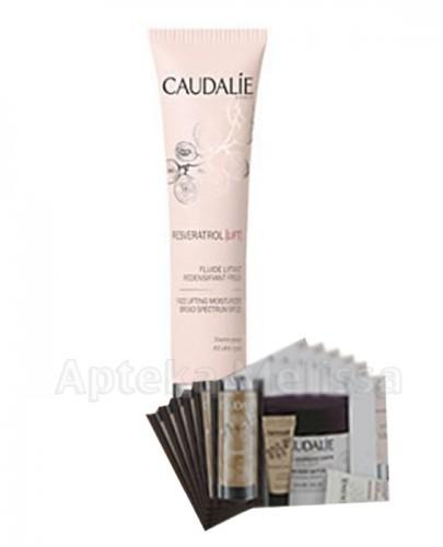 CAUDALIE RESVERATROL LIFT Liftingujący fluid korygujący SPF20 - 40 ml + Próbki Caudalie 10 ml GRATIS !
