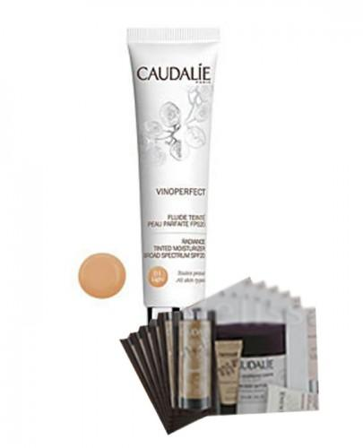 CAUDALIE VINOPERFECT Fluid tonujący SPF20 light - 40 ml 165 + Próbki Caudalie 10 ml GRATIS ! - Apteka internetowa Melissa