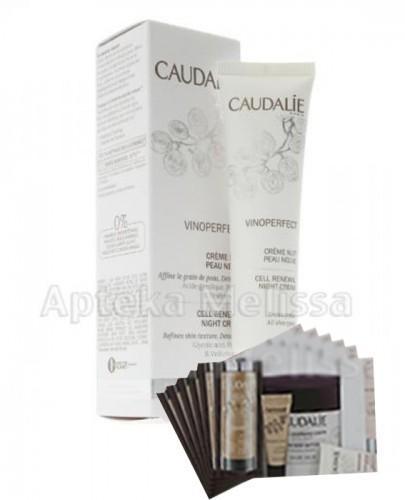 CAUDALIE VINOPERFECT Krem na noc odnowiona skóra -  40 ml 126 + Próbki Caudalie 10 ml GRATIS !