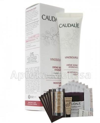 CAUDALIE VINOSOURCE Krem sorbet nawilżający - 40 ml 109 + Próbki Caudalie 10 ml GRATIS !