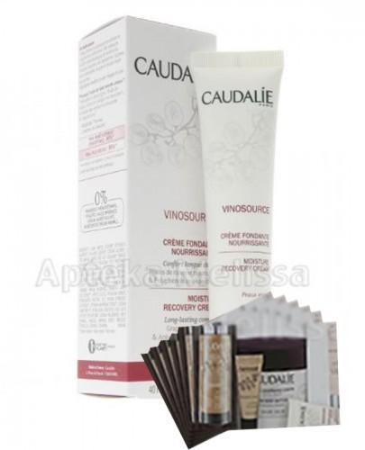 CAUDALIE VINOSOURCE Odżywczy krem wtapiający się w skórę - 40 ml 111 + Próbki Caudalie 10 ml GRATIS !