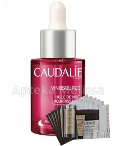 CAUDALIE VINOSOURCE Odżywczy olejek na noc - 30 ml 163 + Próbki Caudalie 10 ml GRATIS !