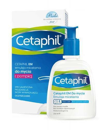 CETAPHIL EM Emulsja micelarna do mycia z pompką - 236 ml - Apteka internetowa Melissa