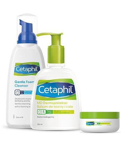 Cetaphil Lekka Pianka do mycia - 236 ml + CETAPHIL EM Emulsja micelarna do mycia z pompką - 236 ml