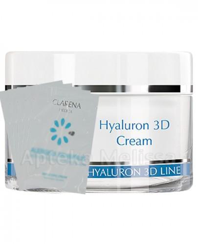 CLARENA HYALURON 3D LINE Ultra-nawilżający krem z 3 rodzajami kwasu hialuronowego - 50 ml  + CLARENA 5 próbek GRATIS ! - Apteka internetowa Melissa