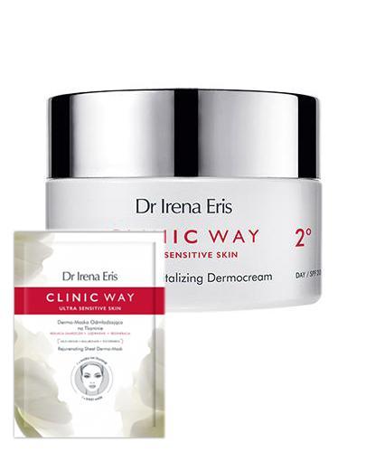 DR IRENA ERIS CLINIC WAY Rewitalizacja retinoidalna 2° na dzień - 50 ml + Dermokapsułki - 5 szt. + Kosmetyczka  - Apteka internetowa Melissa