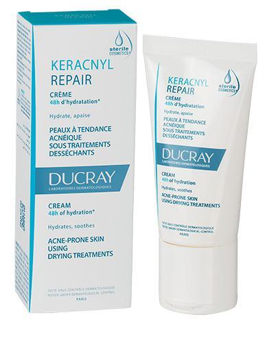 DUCRAY KERACNYL REPAIR Krem - 50 ml + DUCRAY KERACNYL Żel - 40 ml  - Apteka internetowa Melissa