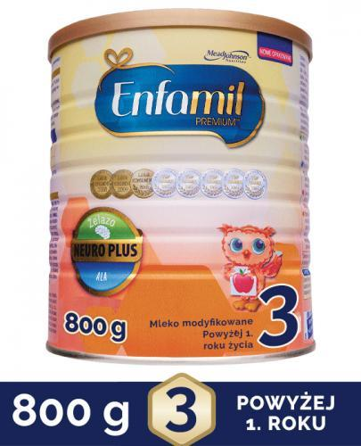 ENFAMIL 3 PREMIUM powyżej 1 roku Mleko modyfikowane - 800 g  - Apteka internetowa Melissa