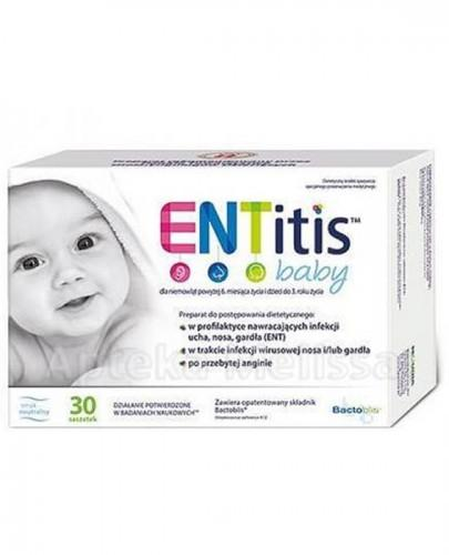ENTITIS BABY Smak neutralny - 30 sasz. - Apteka internetowa Melissa