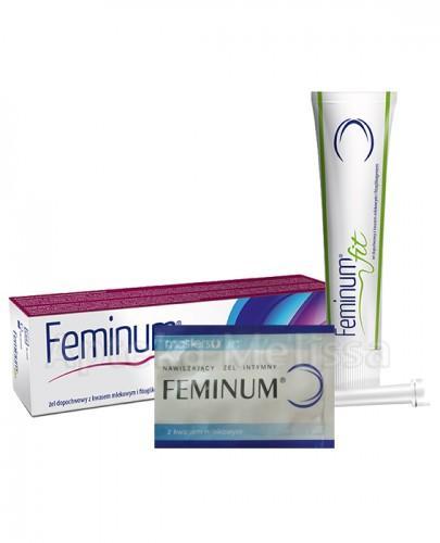 FEMINUM FIT Żel dopochwowy - 40 g + FEMINUM Nawilżający żel intymny dla kobiet - 4 g GRATIS !