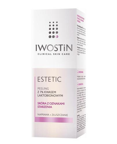 IWOSTIN ESTETIC Peeling z 7% kwasem laktobionowym - 30 ml