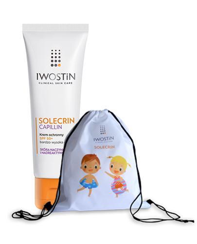 IWOSTIN SOLECRIN CAPILLIN Krem ochronny do skóry naczynkowej SPF50+ - 50 ml