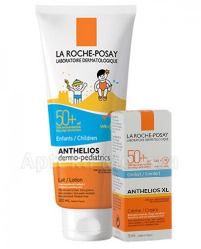 LA ROCHE ANTHELIOS SPF50+  Mleczko dla dzieci - 300 ml + Próbka Anthelios Creme do twarzy - 3 ml GRATIS