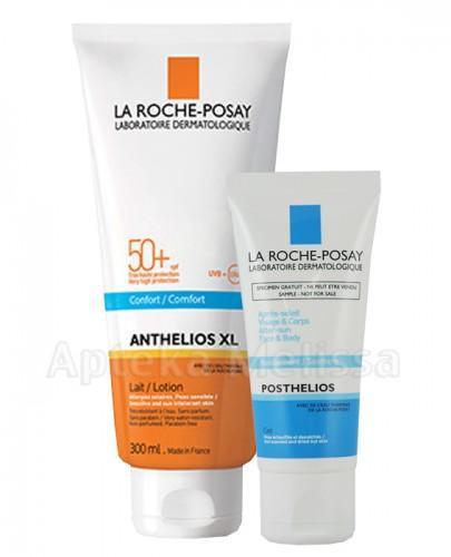 LA ROCHE ANTHELIOS XL Mleczko do ciała SPF50+ - 300 ml + Kojący żel po opalaniu - 40 ml GRATIS ! - Apteka internetowa Melissa