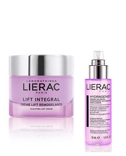 LIERAC LIFT INTEGRAL Modelujący krem liftingujący - 50 ml + LIERAC HYDRAGENIST mgiełka - 30 ml - Apteka internetowa Melissa