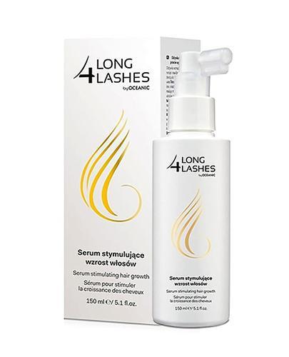 LONG 4 LASHES Serum stymulujące wzrost włosów - 150 ml  + Próbka Long 4 Lashes szampon 10 ml GRATIS !
