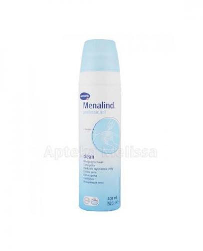 MENALIND PROFESSIONAL CLEAN Pianka do oczyszczania skóry - 400 m - Apteka internetowa Melissa