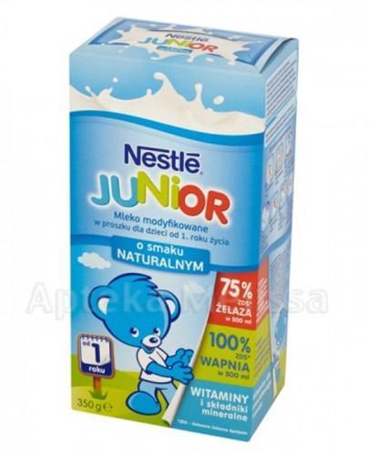 NESTLE JUNIOR Mleko modyfikowane o smaku naturalnym od 1 roku życia - 350 g