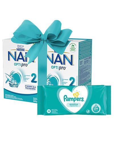 Nestle NAN OPTIPRO 2 Mleko następne dla niemowląt powyżej 6 miesiąca - 2 x 800 g