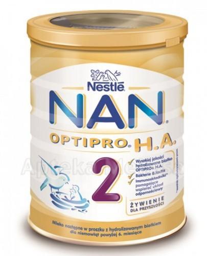 NESTLE NAN OPTIPRO HA 2 Mleko modyfikowane w proszku po 6 miesiącu hypoalergiczne - 400 g - Apteka internetowa Melissa
