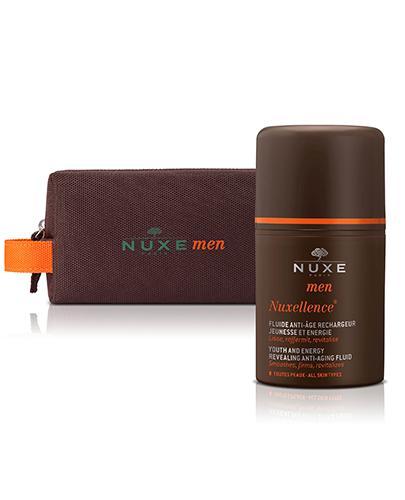 NUXE MEN NUXELLENCE Preparat specjalistyczny przeciwstarzeniowy dla mężczyzn - 50 ml  + KOSMETYCZKA NUXE MEN - Apteka internetowa Melissa