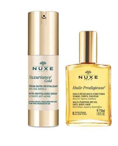 NUXE NUXURIANCE GOLD Odżywcze serum rewitalizujące - 30 ml. Do skóry dojrzałej, suchej i poszarzałej.