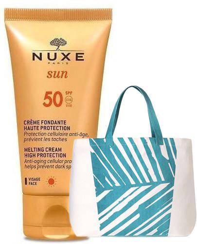NUXE SUN Krem do opalania do twarzy SPF50 - 50 ml  + Żel pod prysznic - 200 ml  - Apteka internetowa Melissa