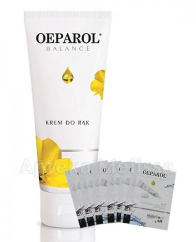 OEPAROL BALANCE Krem do rąk z olejem z nasion wiesiołka - 75 ml + Mix próbek oeparol - 10 ml GRATIS ! - Apteka internetowa Melissa