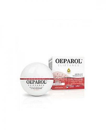 OEPAROL ELIFTANCE 50+ Krem-lift modelujący z lipo-peptydami na dzień skóra sucha - 50 ml + Mix próbek oeparol - 30 ml GRATIS !
