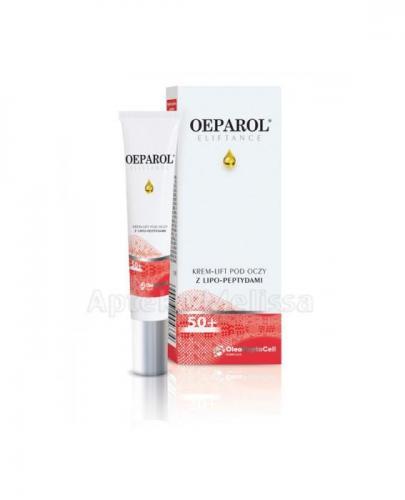 OEPAROL ELIFTANCE 50+ Krem-lift pod oczy z lipo-peptydami - 15 ml - Apteka internetowa Melissa