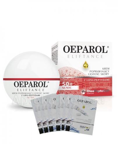 OEPAROL ELIFTANCE 50+ Krem poprawiający gęstość skóry na noc - 50 ml  + Mix próbek oeparol - 30 ml GRATIS !  - Apteka internetowa Melissa