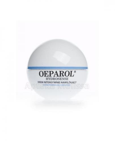 OEPAROL HYDROSENSE Krem intensywnie nawilżający, ochronny SPF 15 - 50 ml  + Mix próbek oeparol - 30 ml GRATIS ! - Apteka internetowa Melissa