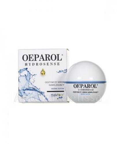 OEPAROL HYDROSENSE Odżywczy krem nawilżający - 50 ml  Bez kartonowego opakowania  - Apteka internetowa Melissa