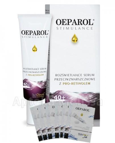 OEPAROL STIMULANCE 40+ Rozświetlające Serum Przeciwzmarszczkowe - 30 ml  + Mix próbek oeparol - 30 ml GRATIS ! - Apteka internetowa Melissa