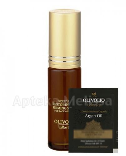 OLIVOLIO BOTANICS Ujędrniające serum z olejem arganowym na twarz i szyję - 30 ml  + Próbka Olivolio Krem - 3 ml GRATIS !