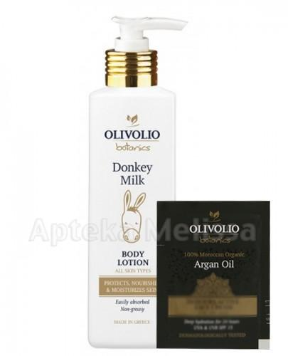 OLIVOLIO BOTANICS DONKEY MILK Balsam do ciała z organicznym oślim mlekiem - 250 ml  + Próbka Olivolio Krem - 3 ml GRATIS !