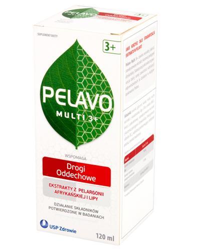 PELAVO MULTI 3+ Syrop - 120 ml Data ważności: 2017.11.30 + Poradnik dietetyczny GRATIS ! - Apteka internetowa Melissa
