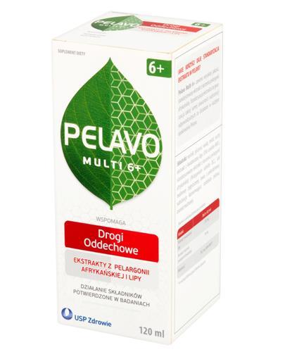 PELAVO MULTI 6+ Syrop - 120 ml + Poradnik dietetyczny GRATIS ! - Apteka internetowa Melissa