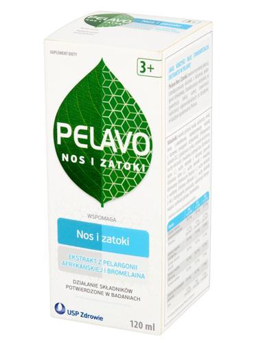 PELAVO NOS I ZATOKI Syrop - 120 ml - Apteka internetowa Melissa