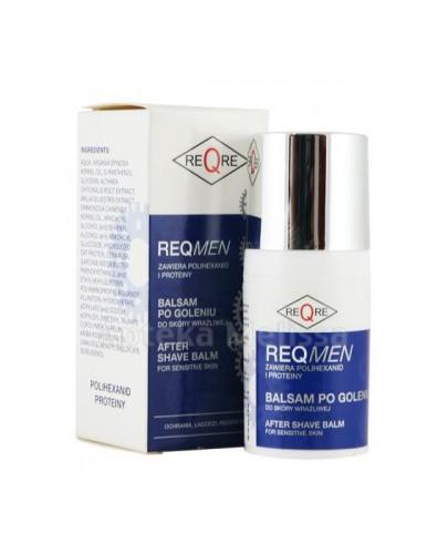 REQMEN Balsam po goleniu do skóry wrażliwej - 30 ml + TOŁPA DERMO MEN MINI Balsam po goleniu - 30 ml GRATIS ! - Apteka internetowa Melissa