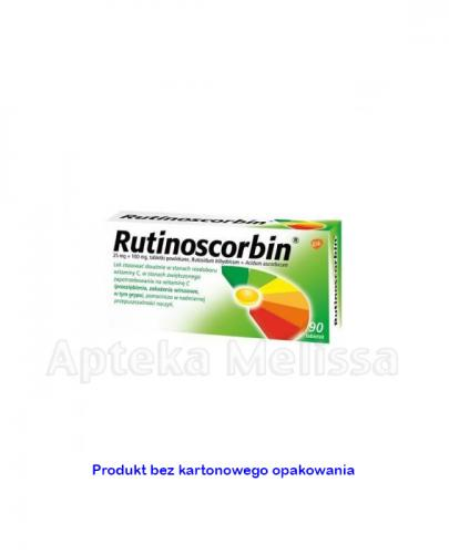 RUTINOSCORBIN - 90 tabl. na odporność - Apteka internetowa Melissa