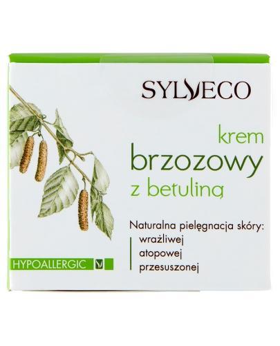 SYLVECO Krem brzozowy z betuliną - 50 ml + Sylveco 5 próbek GRATIS ! - Apteka internetowa Melissa