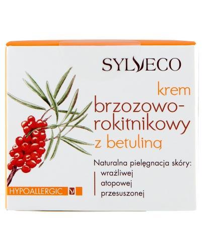SYLVECO Krem brzozowo-rokitnikowy z betuliną - 50 ml + Sylveco 5 próbek GRATIS !