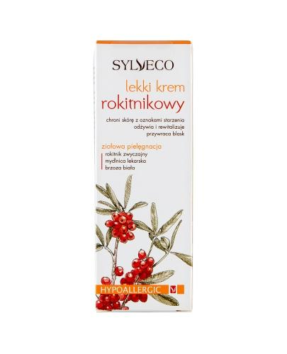 SYLVECO Krem rokitnikowy hypoalergiczny lekki - 50 ml+ Sylveco 5 próbek GRATIS !