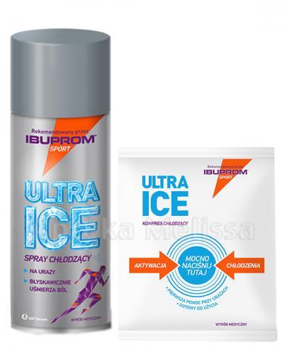 ULTRA ICE Spray chłodzący - 200 ml + Kompres chłodzący GRATIS !  - Apteka internetowa Melissa